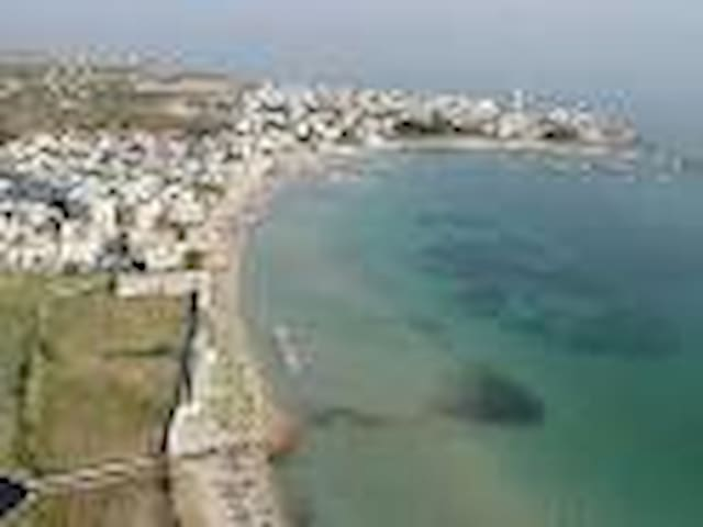 Puglia 3-bed apartment on the sea - Torre Canne - Daire