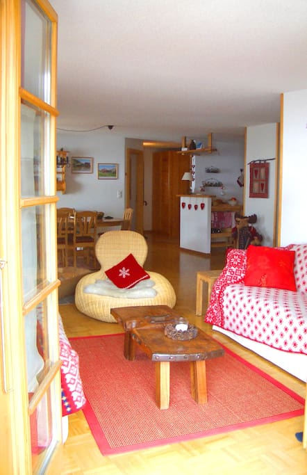 Wecome to our cosy and spacious Alpine getaway!