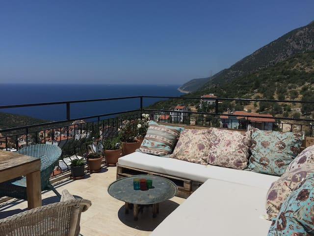 Topfloor of appartment with amazing views
