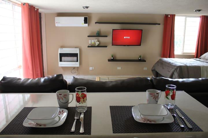Comfortable Loft zona Residencial Tec Fundidora