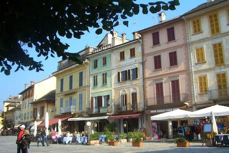 Giove with superb island view! - Orta San Giulio - Apartment