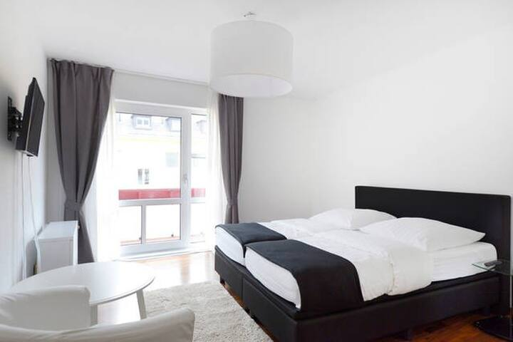 Frankfurt City-South (Apartment 21) - Frankfurt - Apartment
