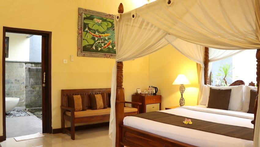 #1 Bedroom Deluxe villa @Villa jj Ubud
