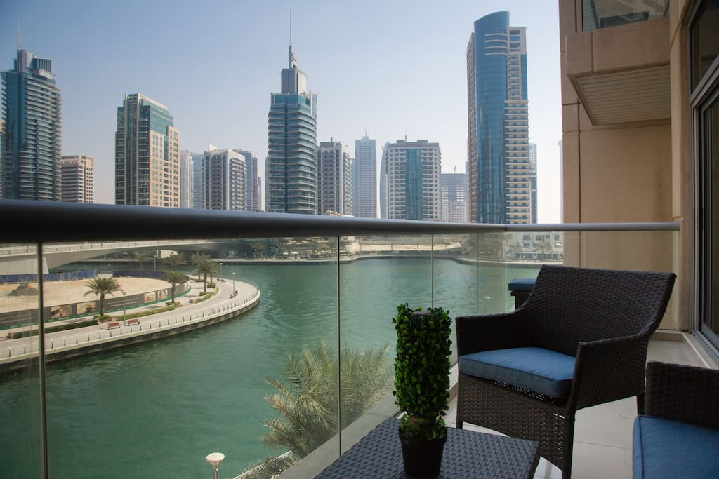 View from your private terrace