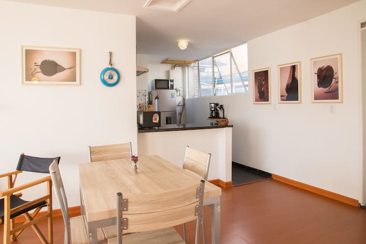 Cozy flat close to main attractions in Bogotá