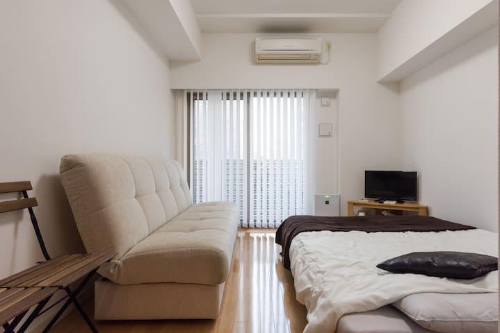[NEW!] TokyoSta9mins /NihonbashiSta2mins /FreeWiFi - Chūō-ku - Appartement