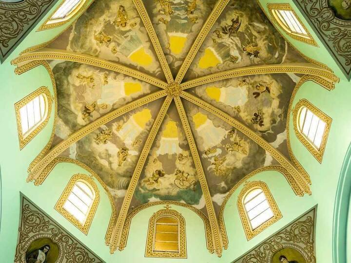 Cúpula de la iglesia de Santa Teresa