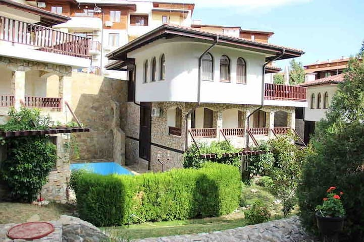 Beach Villa in Saint Vlas with  pool