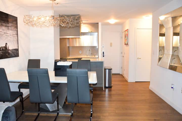 Convenient + Upscale Apartment in NYC w/ Amenities