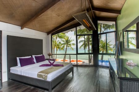 Breathtaking sunset view room on White Beach - Malay - Wohnung