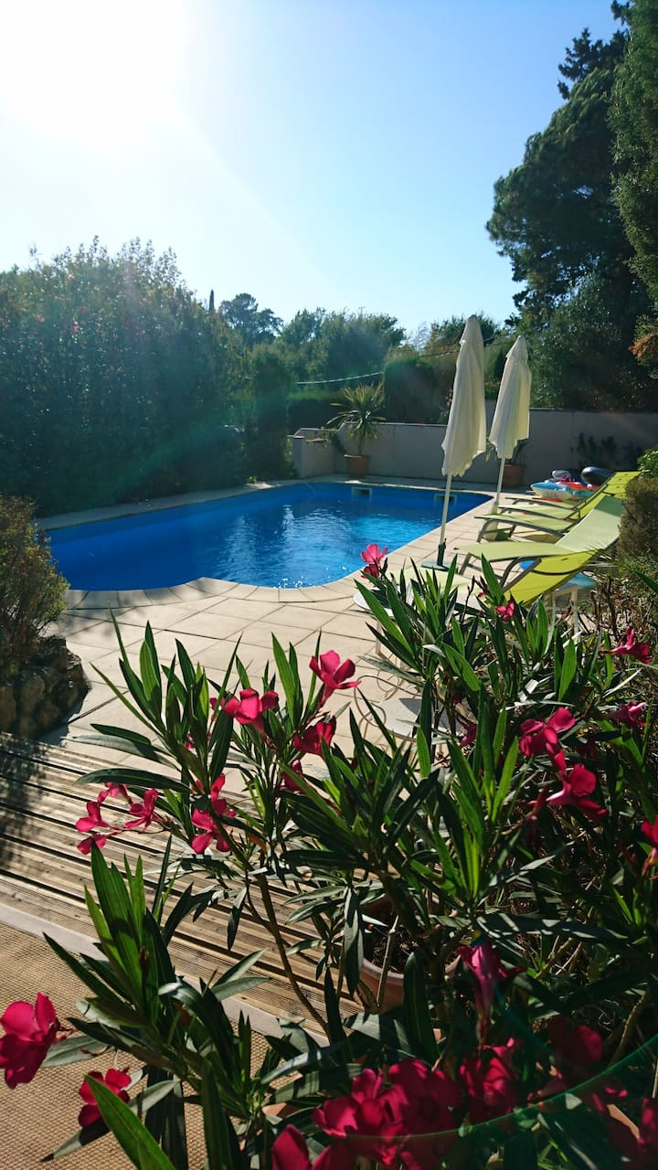 Secluded villa;  private pool in tranquil location