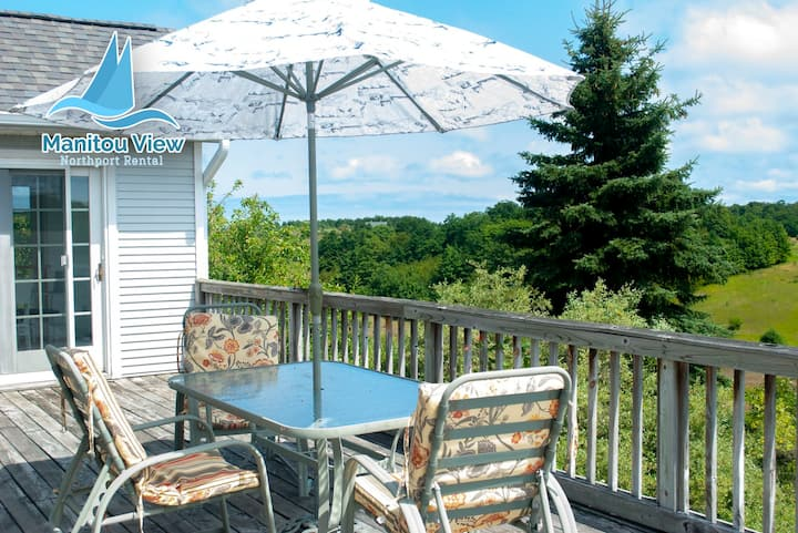 Manitou View: A Northport Rental