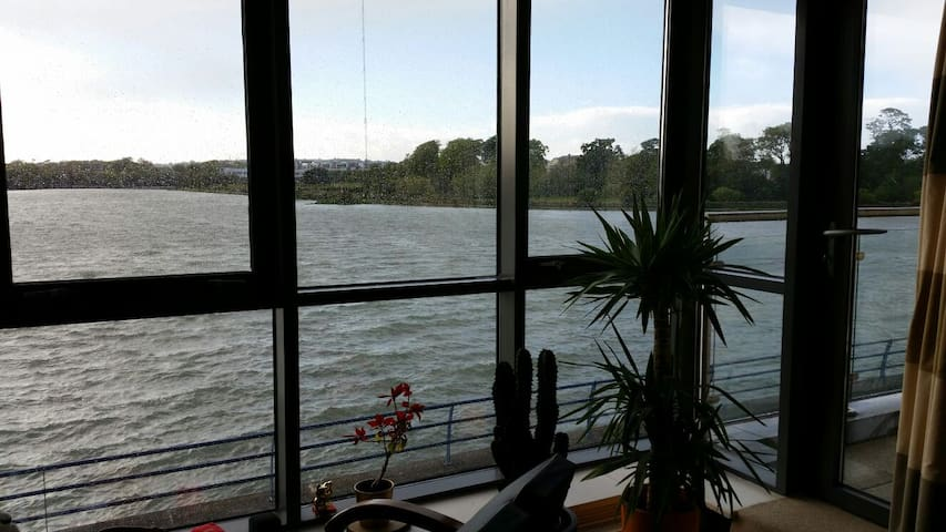 Double bed with bathroom and a view - Cork - Lägenhet