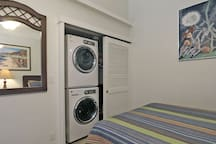 New Washer and Dryer in the third bedroom closet