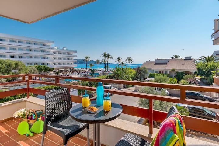 Apartamento en el Puerto de Alcudia a 200 m playa