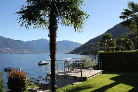 Casa Miralago, direct lake access - Ranzo - Appartement