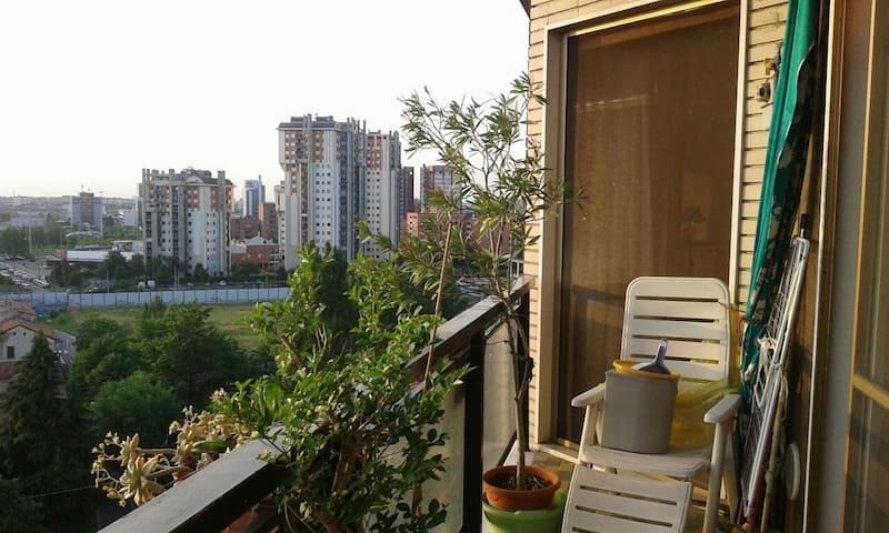 Vista stupenda ultimo piano balcone - Buccinasco  - Apartment