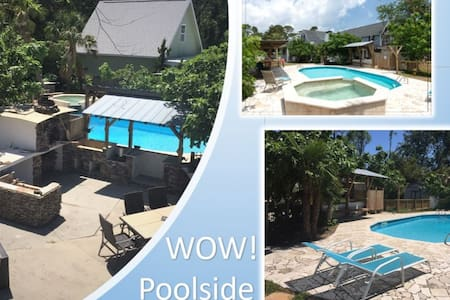 WOW! Pool+Pizza Oven near Beaches, UNCW & Downtown