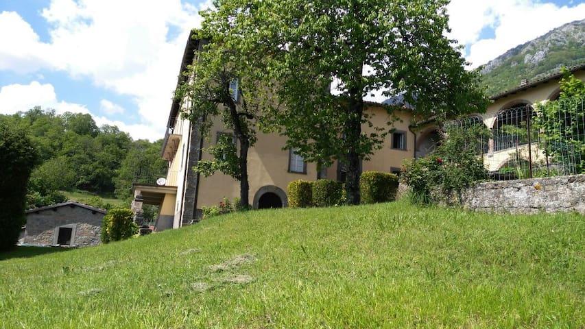 """App. """"Le Apuane"""" in villa storica - Corfino - Apartamento"""