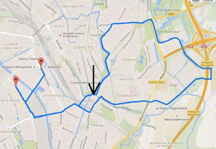 Room Tour de France - Utrecht - Cabaña