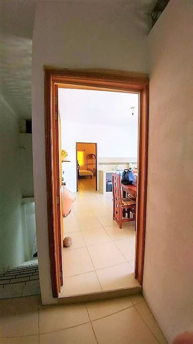 puerta de ingreso