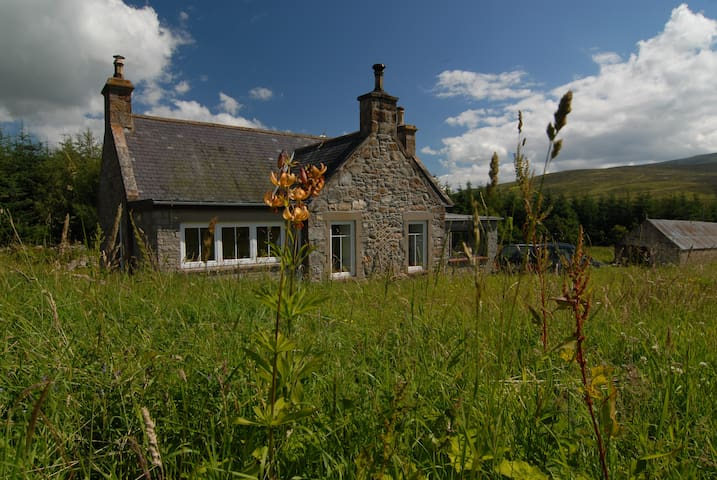 Croft Glass, self catering cottage in Speyside - Dufftown - House