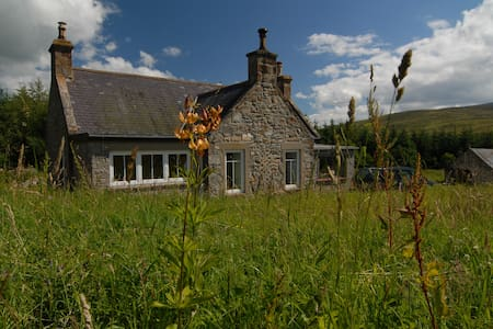 Croft Glass, self catering cottage in Speyside - Dufftown - Hus