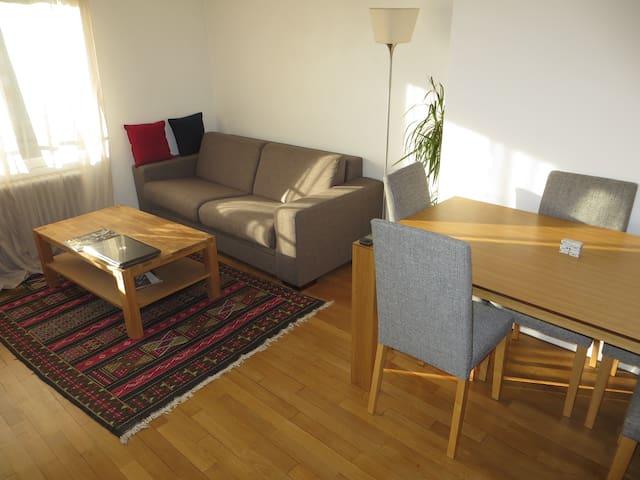 Séjour de 18 m²