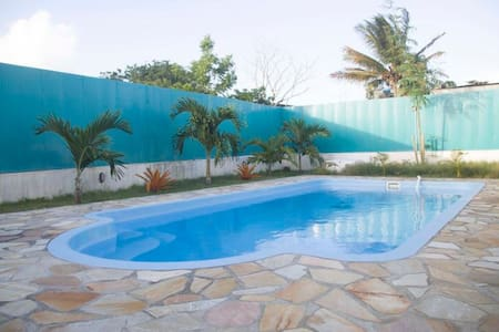 自带停车位,私人泳池,巨大的后花园,15分钟到超市 - Grand Gaube - Дом