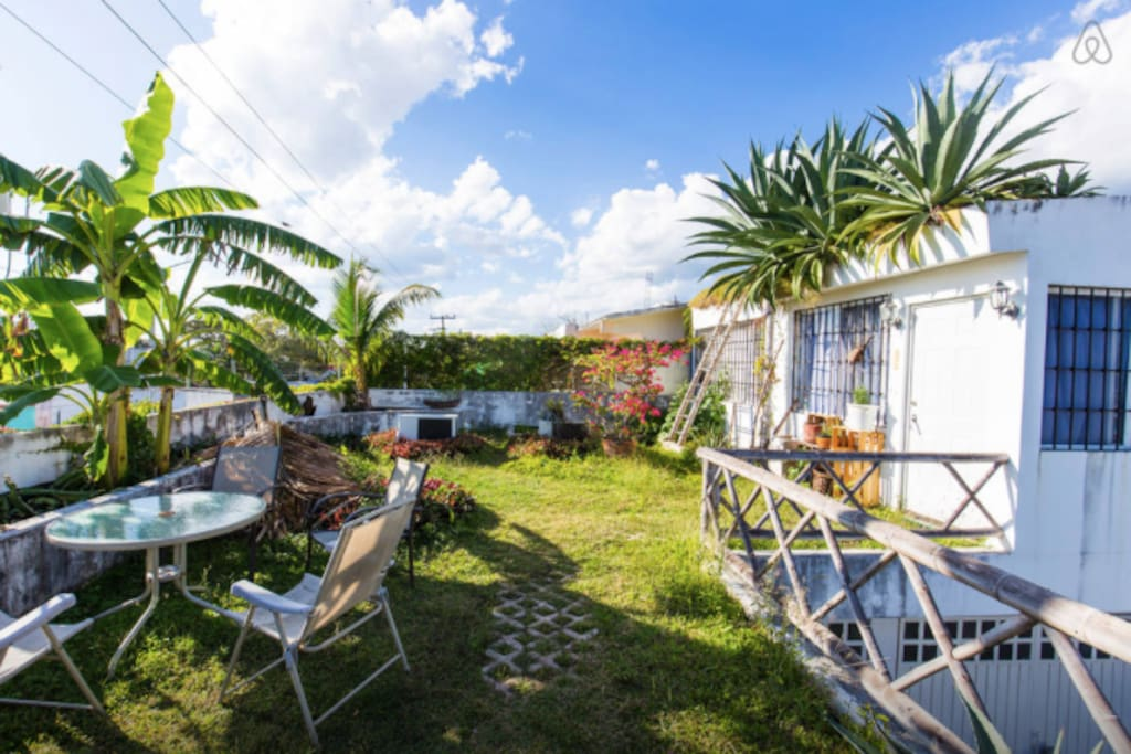 We love the roof garden and you will too!!