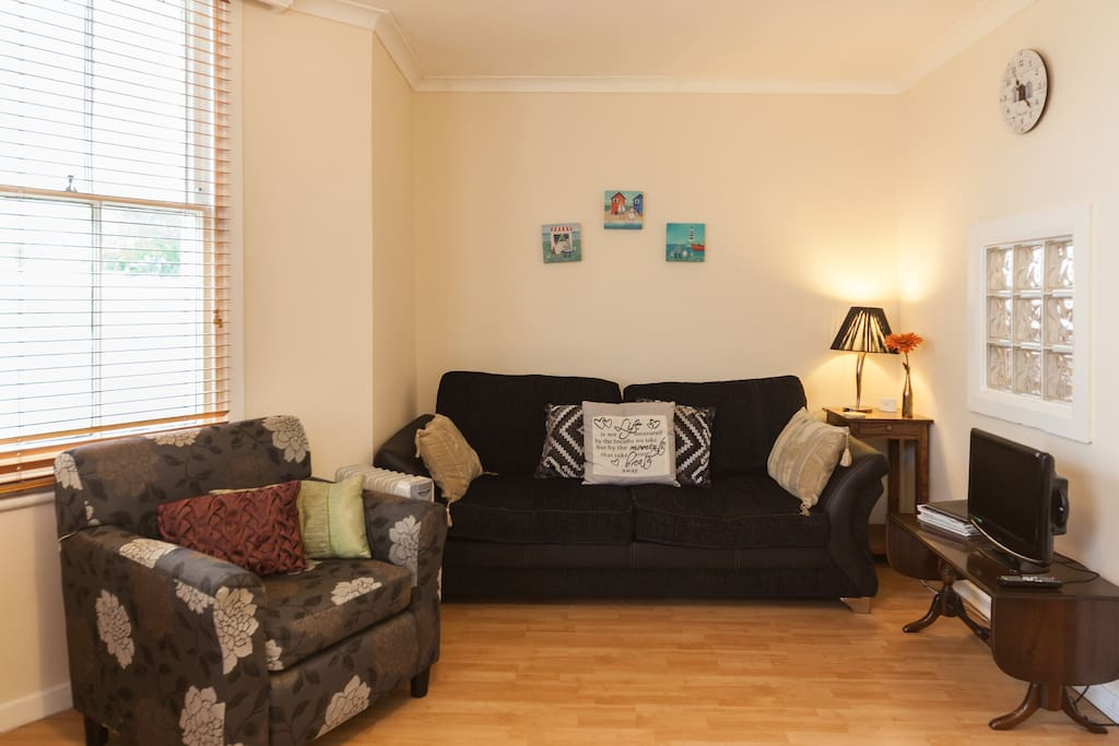 The Large Sofa opens out to a comfy Double Bed.