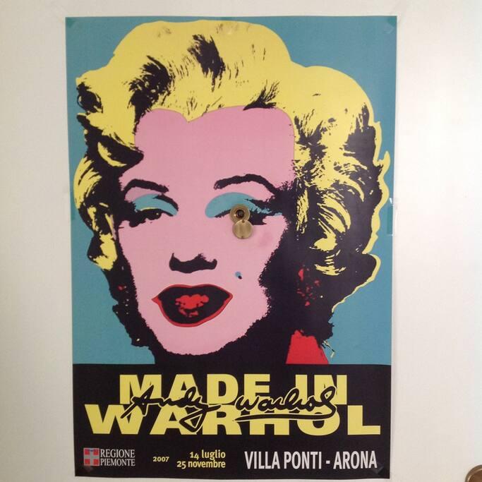 Marilyn is watching us!