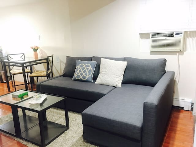 1 Bed Apt Sleeps 4. Easy access to NYC!