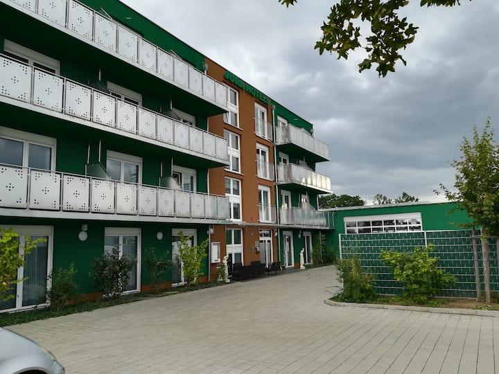 Jura Hotels Einzelzimmer mit Balkon