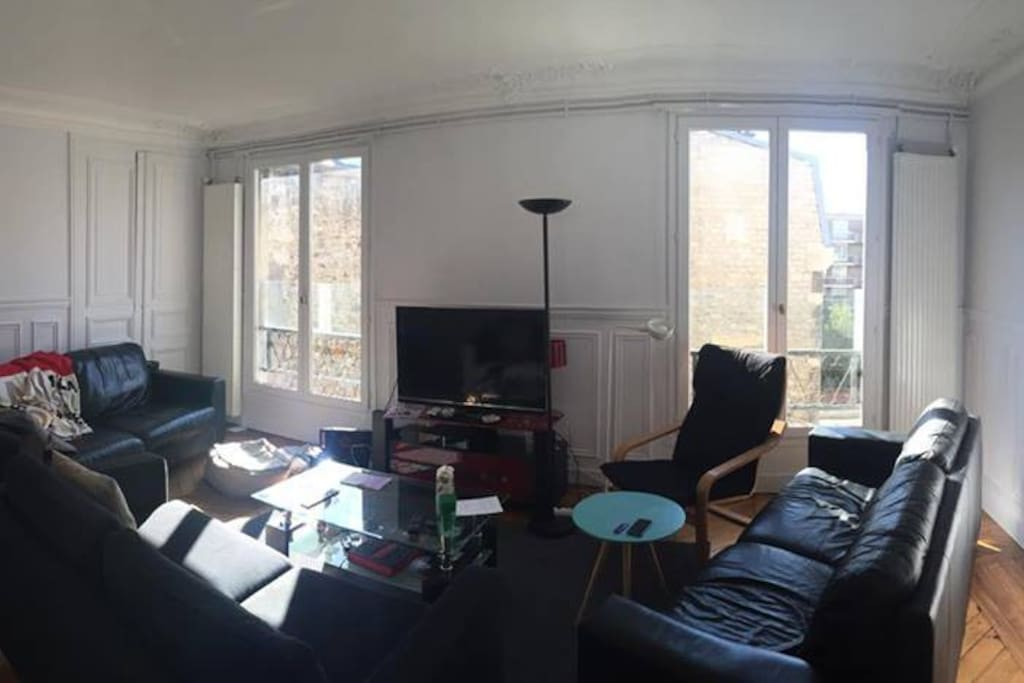 Grand espace commun et convivial