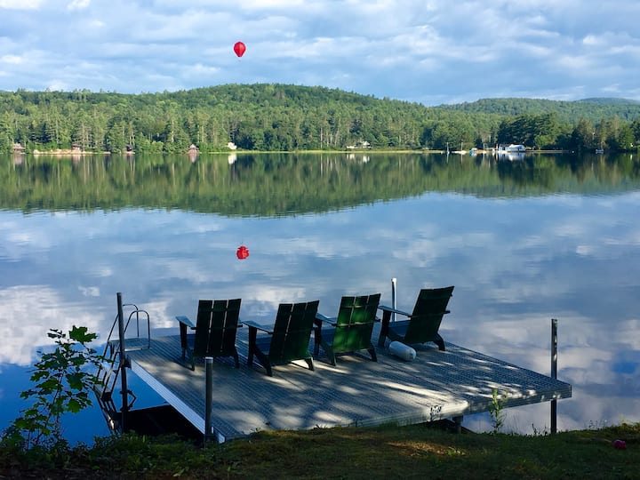 Perfect Lake Fairlee Getaway on Watermelon Point
