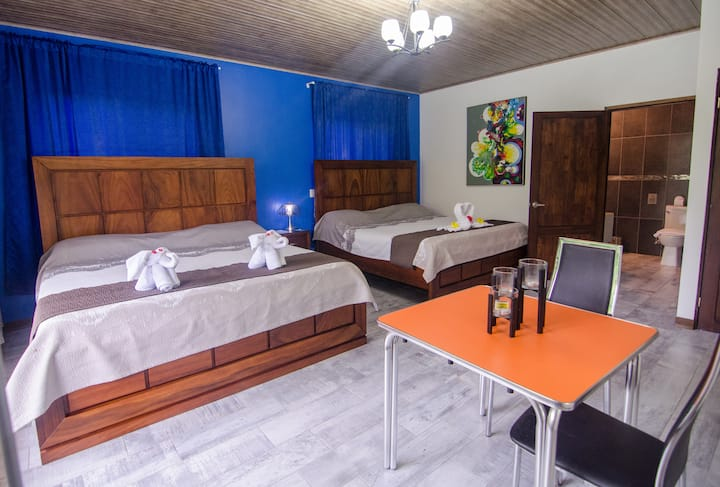 Arenal Volcano Gold Loft - Double King Bed Room 2