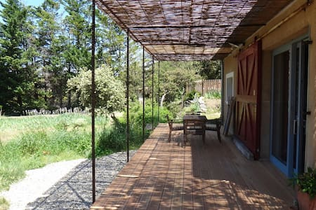 Les Safres / Maison Provence Drôme  - Rousset-les-Vignes