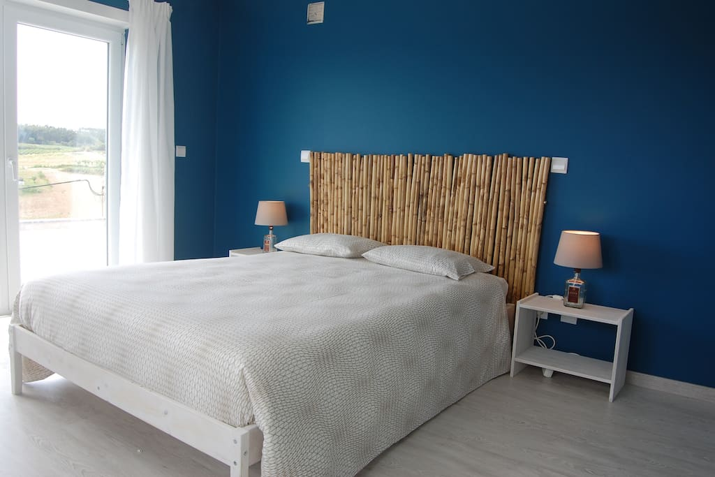 Comfortable double room with access to balcony