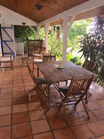 nice apartment, terrace and garden - Le Lamentin - Apartament