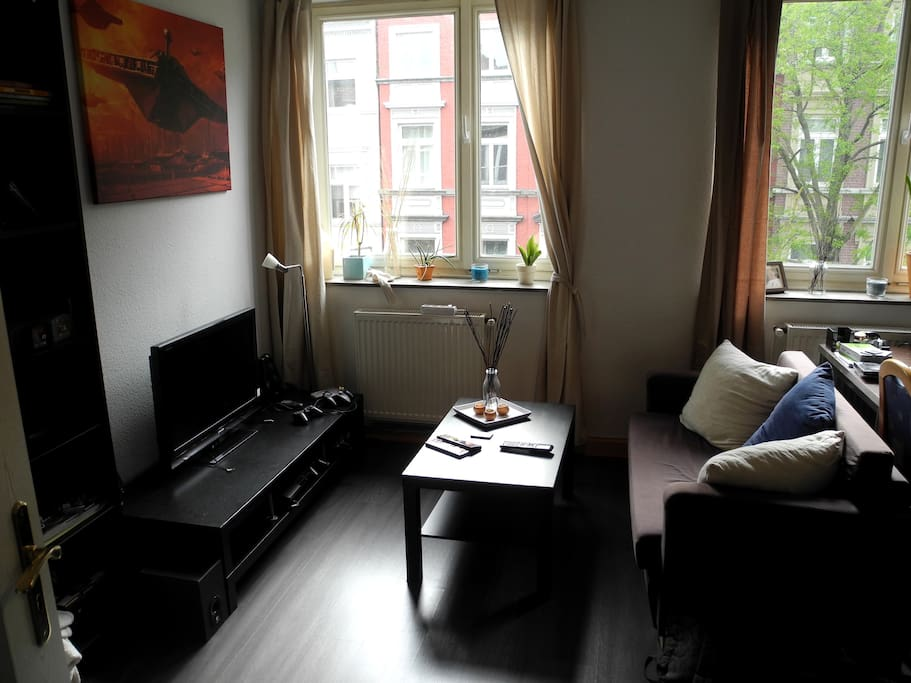nice bright perfectly located 38m flat in aachen apartments for rent in aachen nordrhein. Black Bedroom Furniture Sets. Home Design Ideas