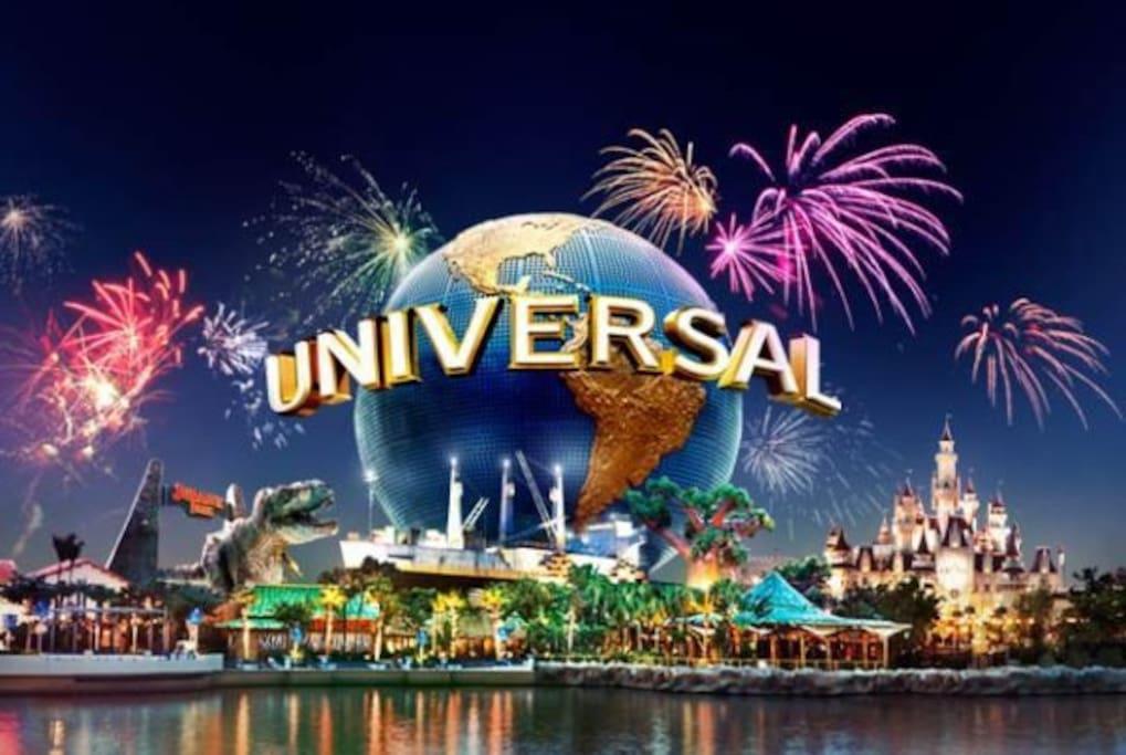 25 Minutes to Universal Studio