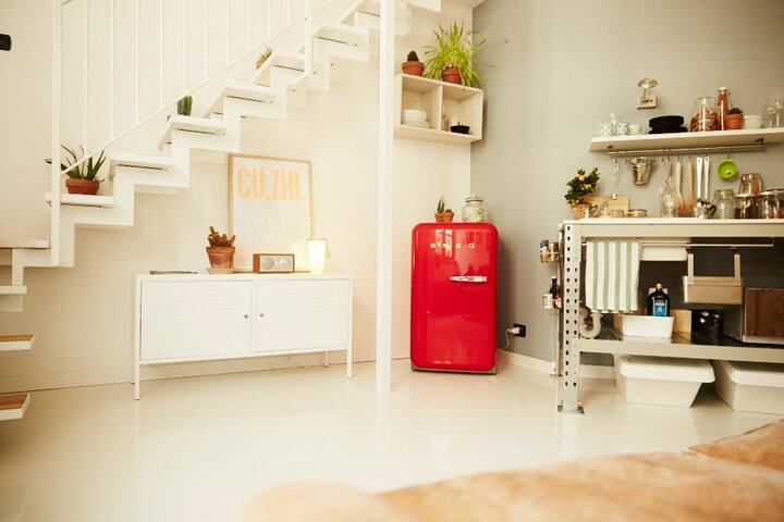 Independent charming Loft