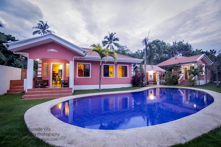 Casa Sophia Poolside Villa Home near Alona Beach - Panglao - Huis