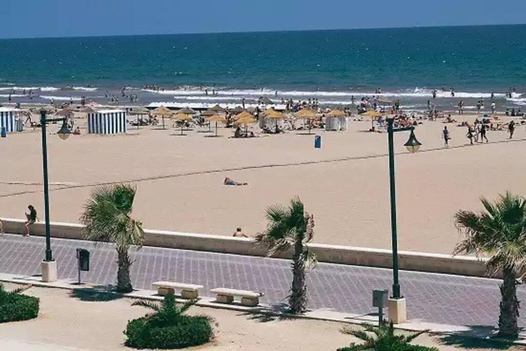 Cabanyal beach