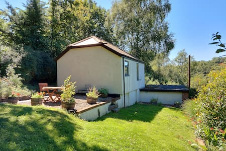 Detached, self contained cottage with own garden.