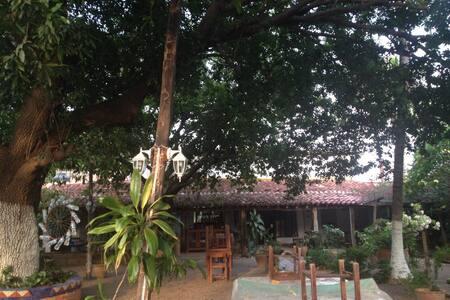 Kolonialhaus mit grossem Garten!! - Juchitán de Zaragoza - Haus