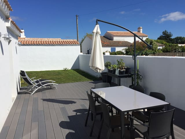 New house 10min away from beach - Noirmoutier-en-l'Île - Hus