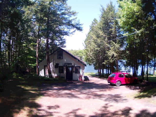 Lakefront Camp minutes from Colby College - 奧克蘭