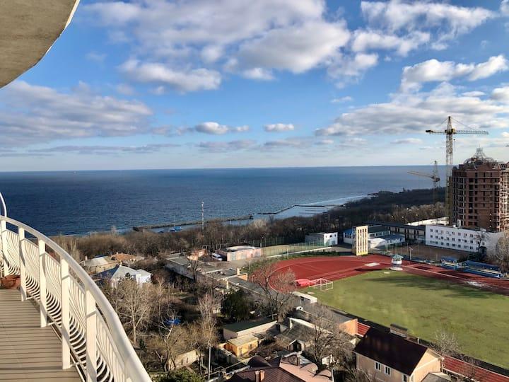 Новые апартаменты с лучшим видом на море и Одессу